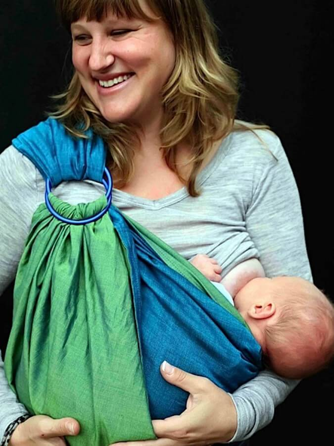 9dafe5a0927 Hug-a-bub Traditional Ring Sling Opal