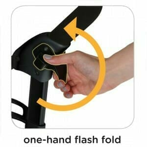 Joie Brisk LX Barcode Stripe One Hand Fold