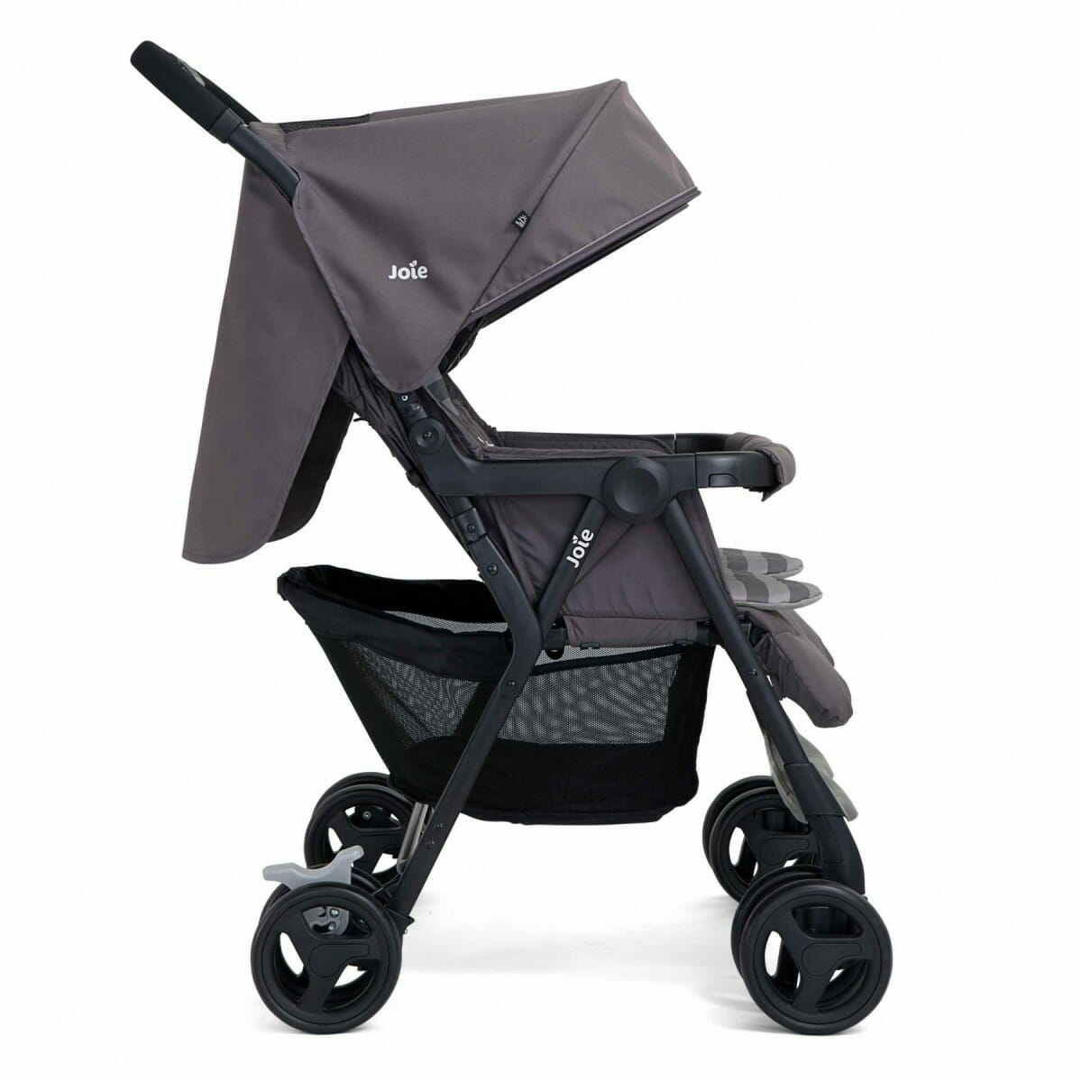 Joie Aire Twin Dark Pewter Side