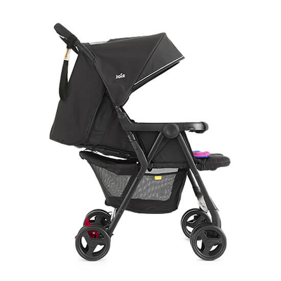Joie Aire Twin Stroller Pink and Blue Right Side View