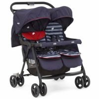 Joie Aire Twin Stroller Nautical Navy