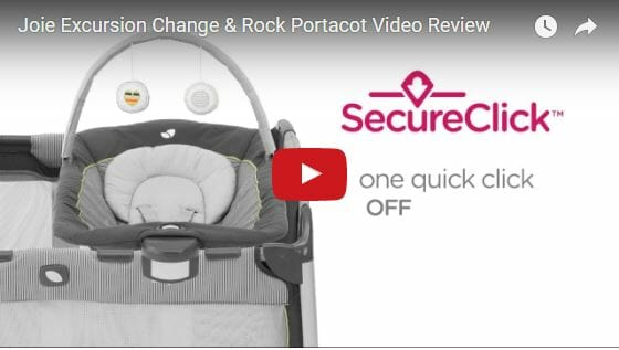 Joie Excursion Change & Rock Portacot Video Review