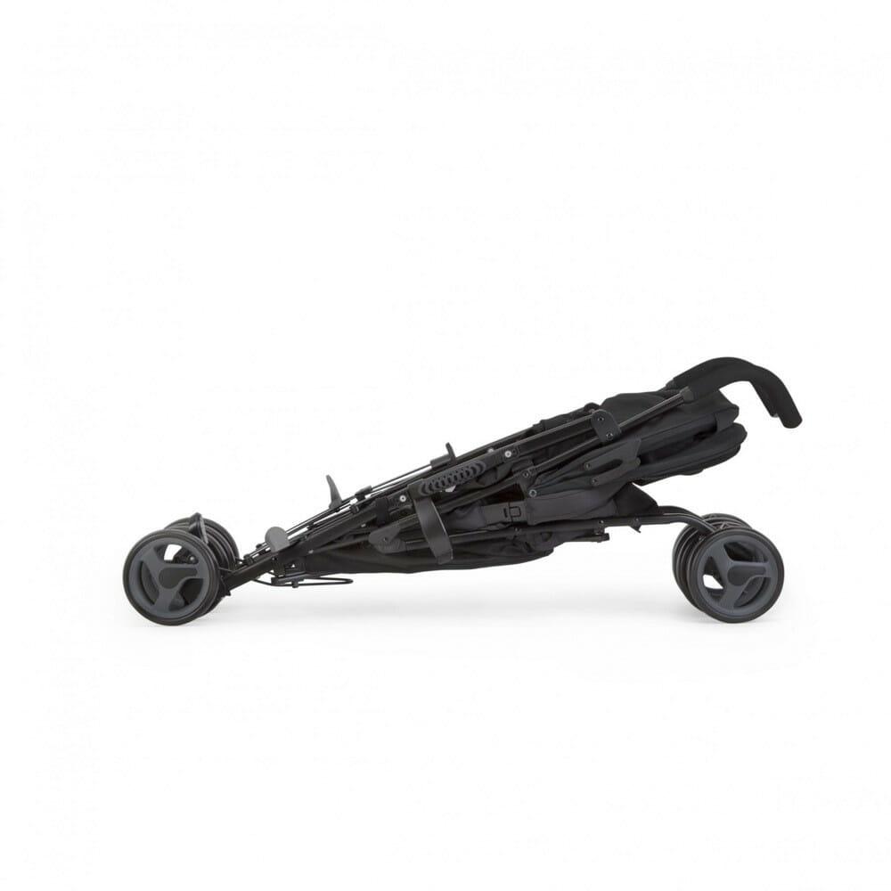 Joie Nitro Stroller Two Tone Black Folded