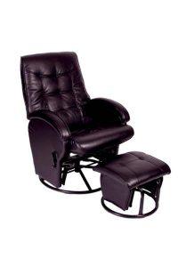 Babyhood Diva Glider Breast Feeding Chair Black