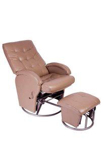 Babyhood Diva Glider Breast Feeding Chair Latte