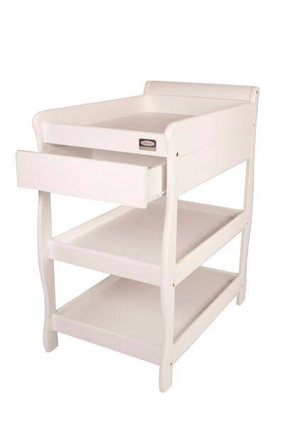 Babyhood Sleigh Change Table with Drawer