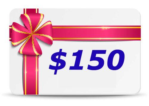 150 Dollar Bubs n Grubs Gift Certificate