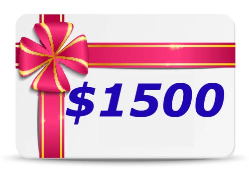 1500 Dollar Bubs n Grubs Gift Certificate