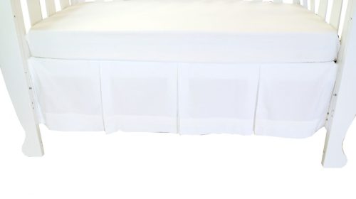 Amani Bebe Classic White Dust Ruffle