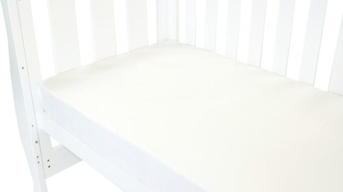 Amani Bebe Classic White Fitted Sheet