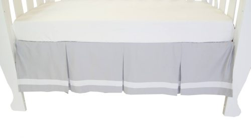 Amani Bebe Summer Stripe Crib Skirt