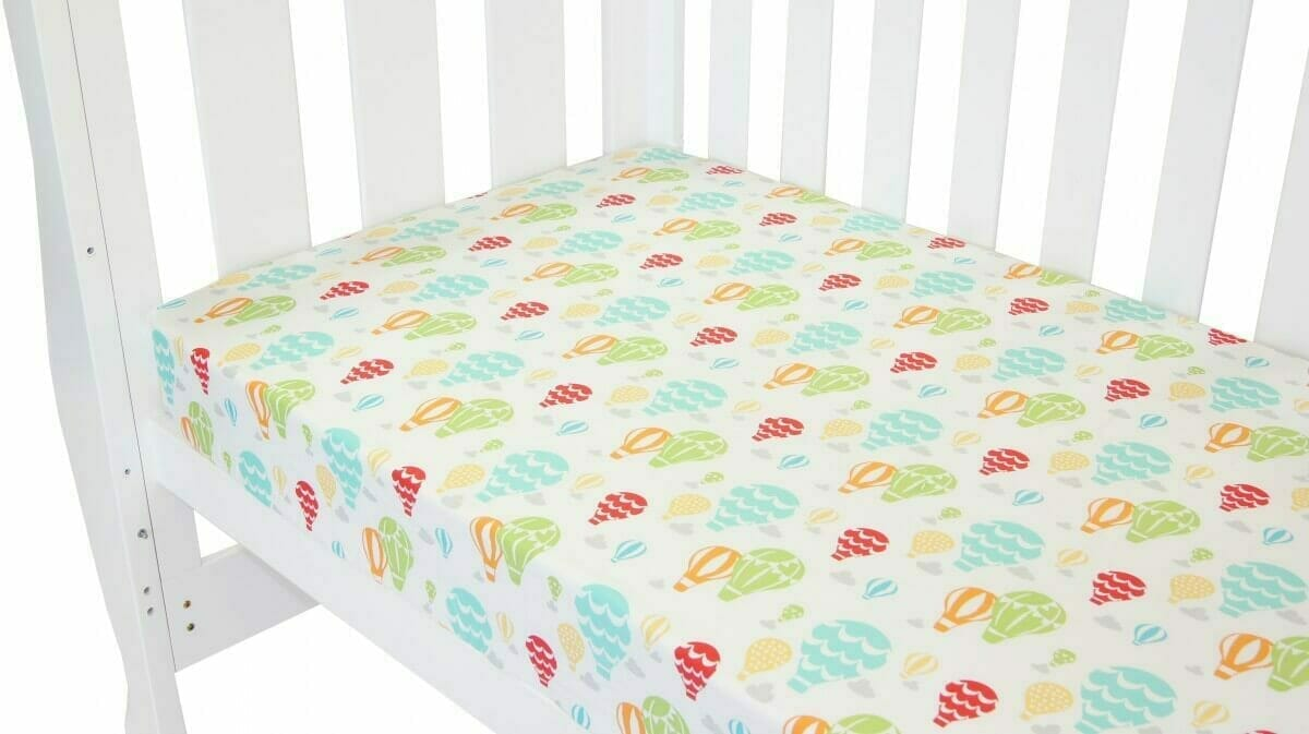 Amani Bebe Up In The Sky Fitted Sheet