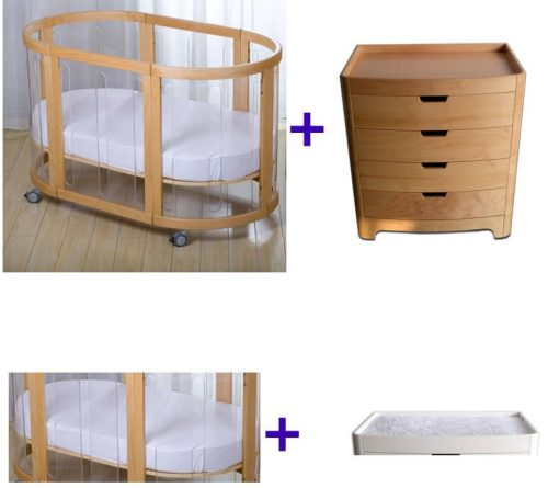 Kaylula Cot + Stor Chest 4 Pce Package Deal