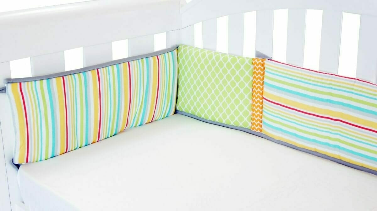Amani Bebe Up In The Sky Cot Bumper