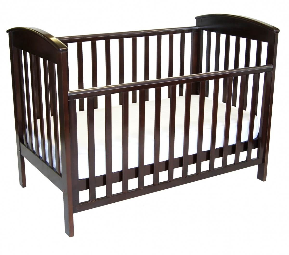 Babyhood Classic Curve Cot Drop side Down