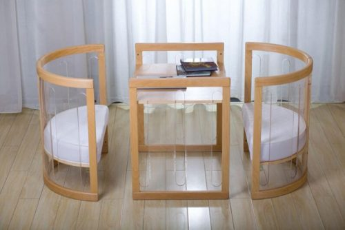 Kaylula Sova Cot As Table and Chairs - Beach