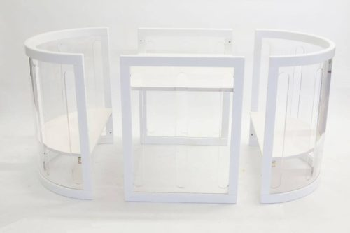 Kaylula Sova Cot As Table and Chairs - White