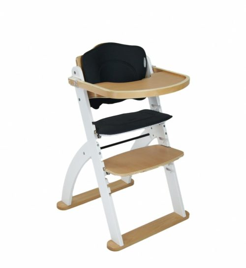 Kaylula Ava Forever High Chair White Angle View