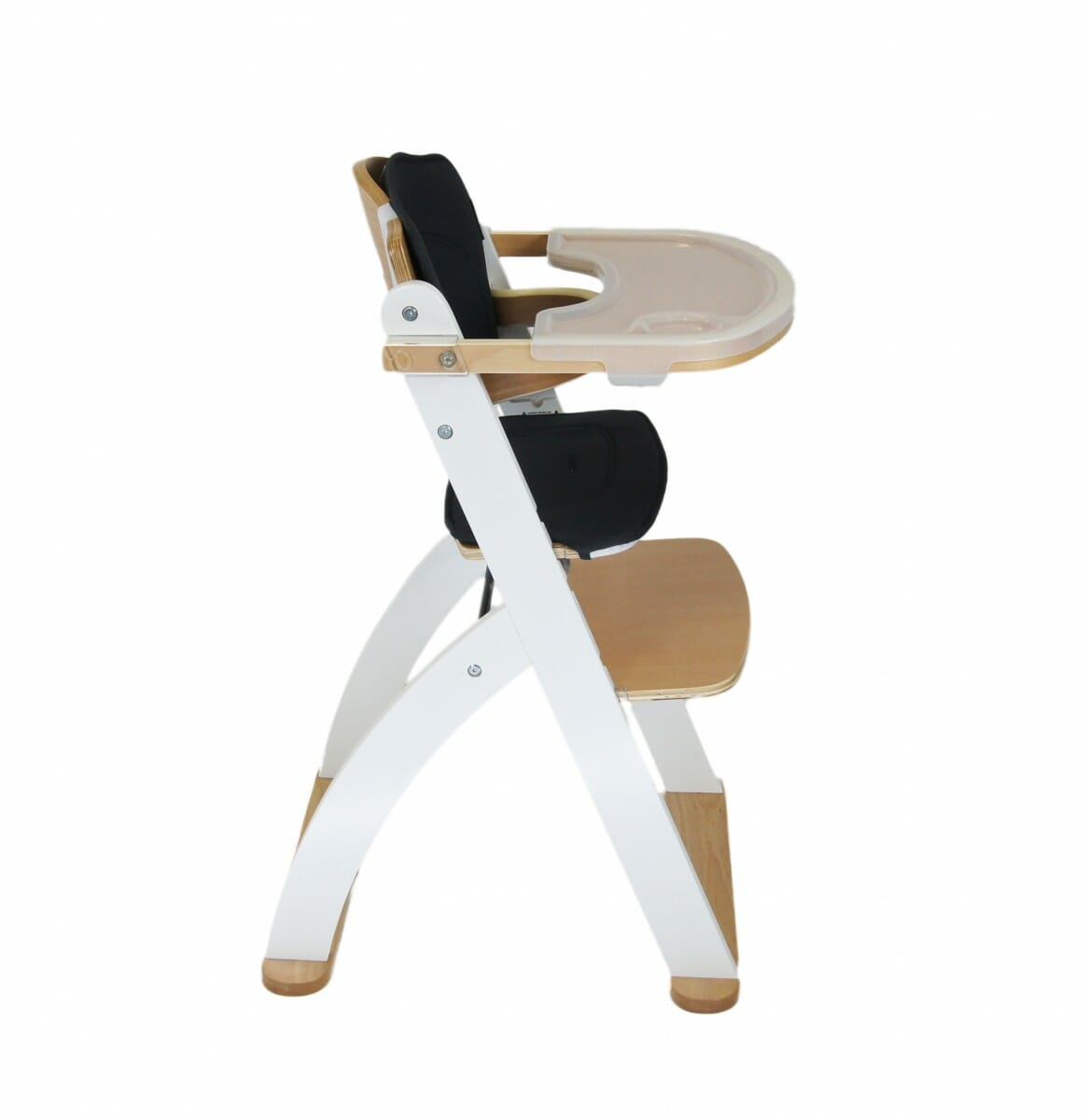 Kaylula Ava Forever High Chair White Side View
