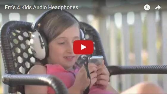 Ems 4 Kids Audio HeadPhones Video