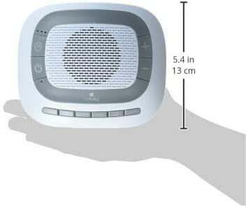 Homedics Soundspa Portable Size