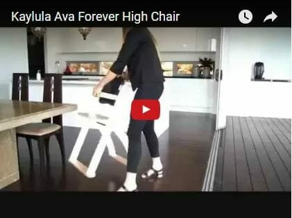 Kaylula Ava Forever High Chair Video