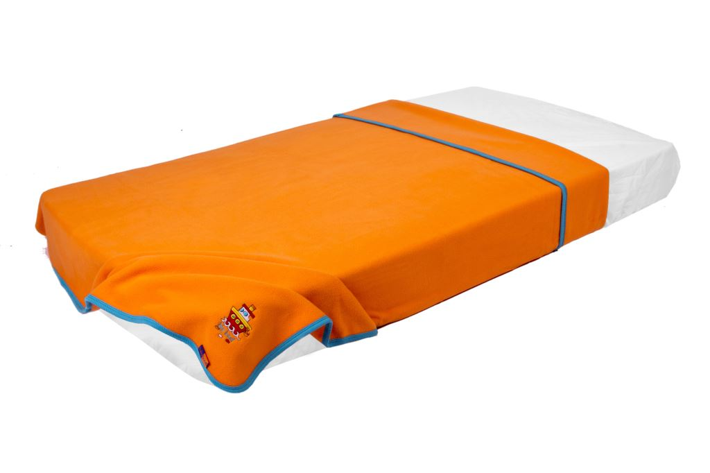 Polar Fleece Blanket Orange