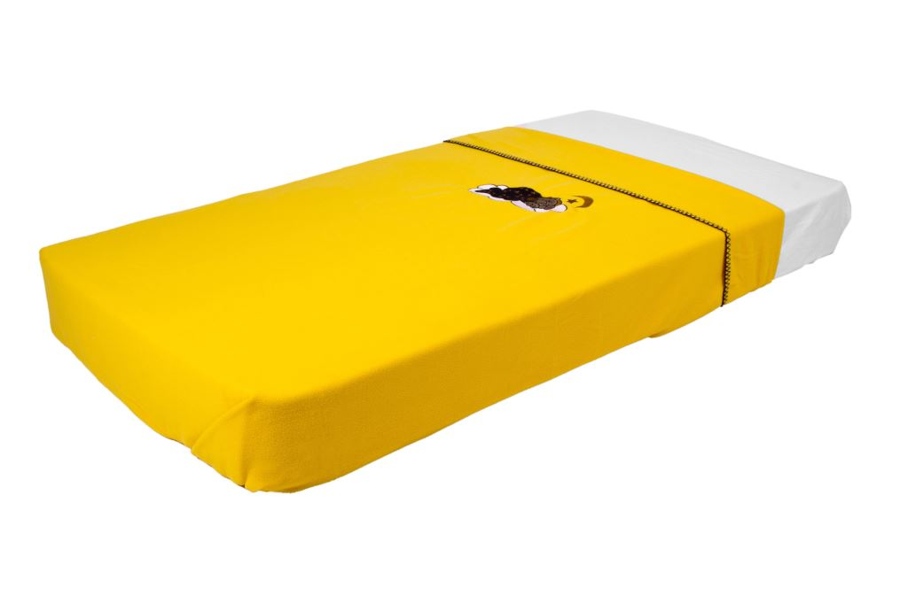 Polar Fleece Blanket Yellow
