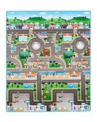 Prince Lionheart Reversible Play Mat City ABC
