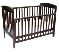 babyhood Classic Curve 4 in 1 Cot drop side down