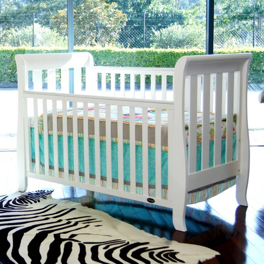 babyhood Classic Sleigh Cot Lifestyle