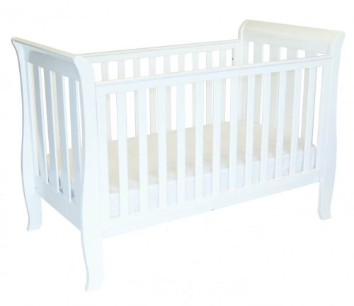 babyhood Classic Sleigh 4 in 1 Cot
