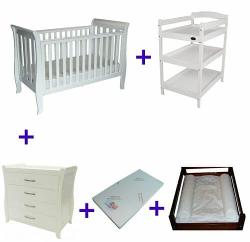 Babyhood Classic Sleigh 5 Pce Deal No Text