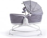 Tiny Love 3 In 1 Cozy Rocker Napper Heather Grey