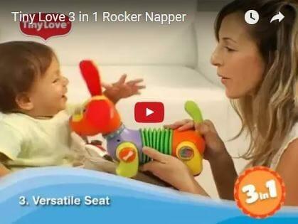 Tiny Love 3 in 1 Rocker Napper Flow