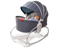 Tiny Love Cozy Rocker Napper Grey Denim