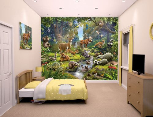 Walltastic Animals of the Forest Lifestyle