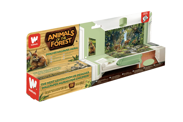 Walltastic Animals of the Forest Packaging