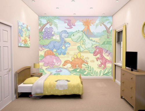 Walltastic Baby Dino World Lifestyle