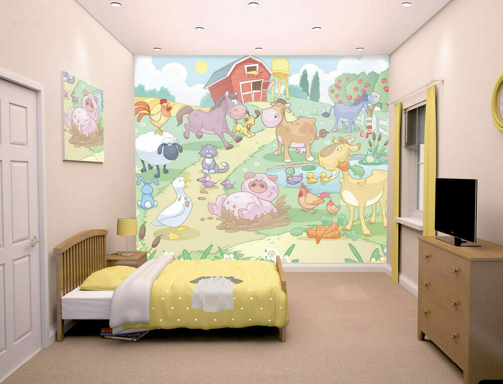 Walltastic Baby Farm Lifestyle