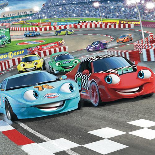 Walltastic Car Racers Mural