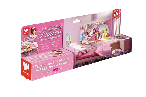 Walltastic Fairy Princess Packaging