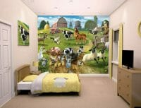 Walltastic Farmyard Fun Lifestyle