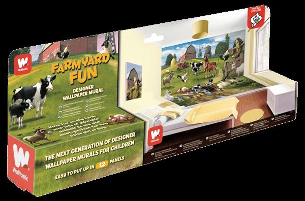 Walltastic Farmyard Fun Packaging