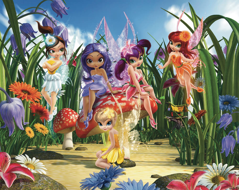 Walltastic Magical Fairies