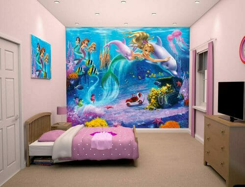 Walltastic Mermaids Lifestyle
