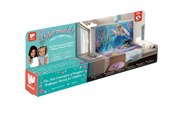 Walltastic Mermaids Packaging