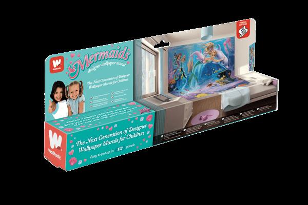 Walltastic Mermaids Packaging