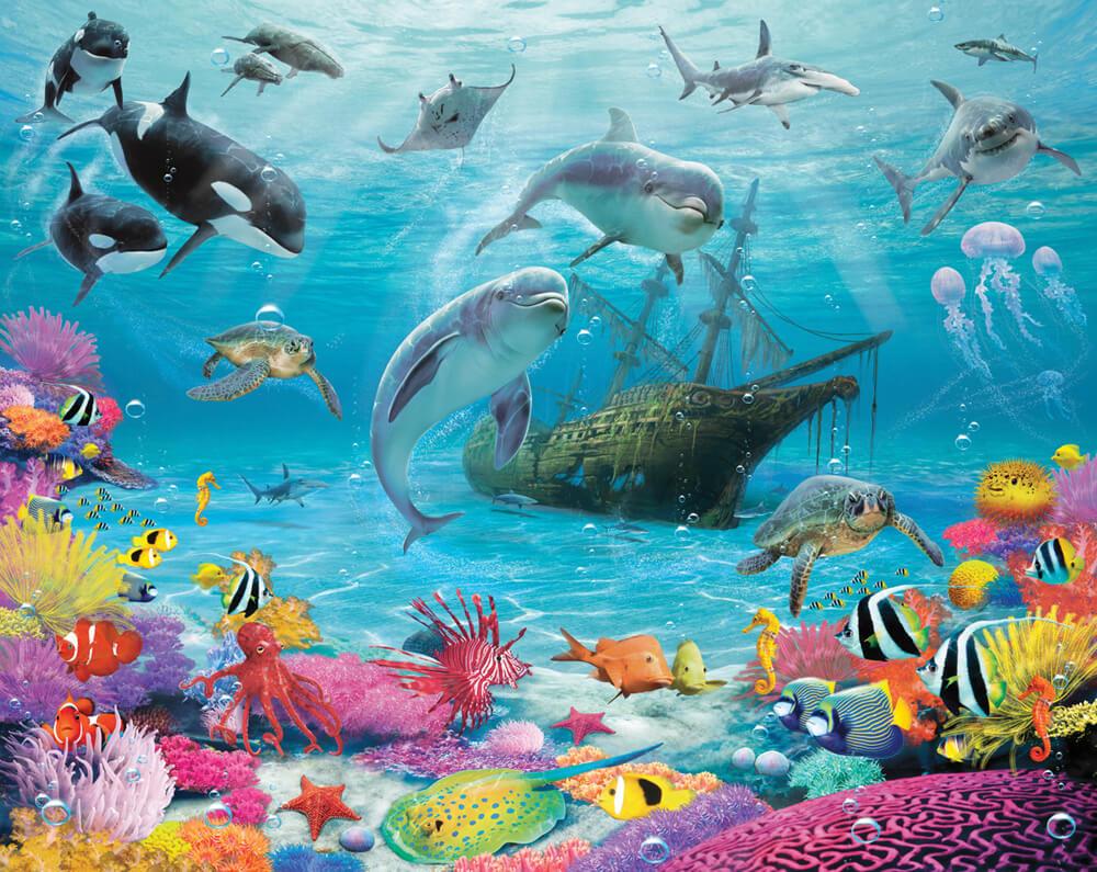 Walltastic Sea Adventure Mural