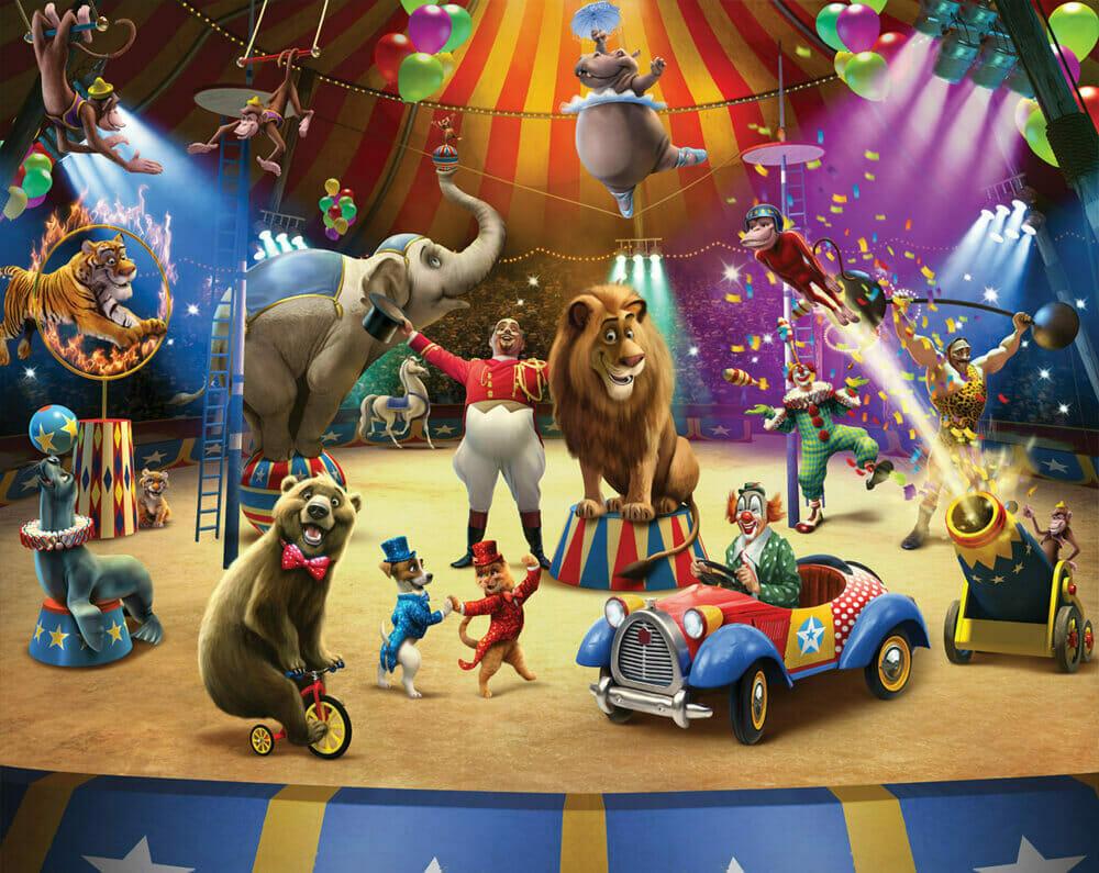 Walltastic The Circus Mural